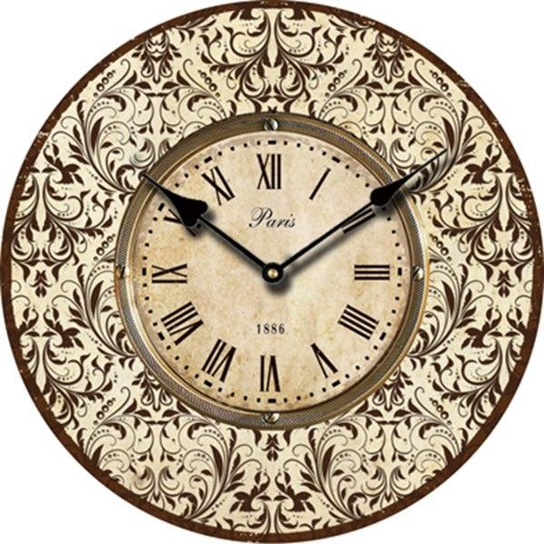 Popular antique wooden wall clock buy cheap antique wooden for Antique wall clock wood