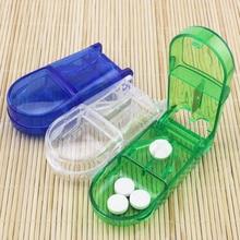 Коробка для пилюль, портативный удобный ящик для лекарств, нож для разрезания таблеток, разветвитель для лекарств, держатель для таблеток, коробка для пилюль, пилюля
