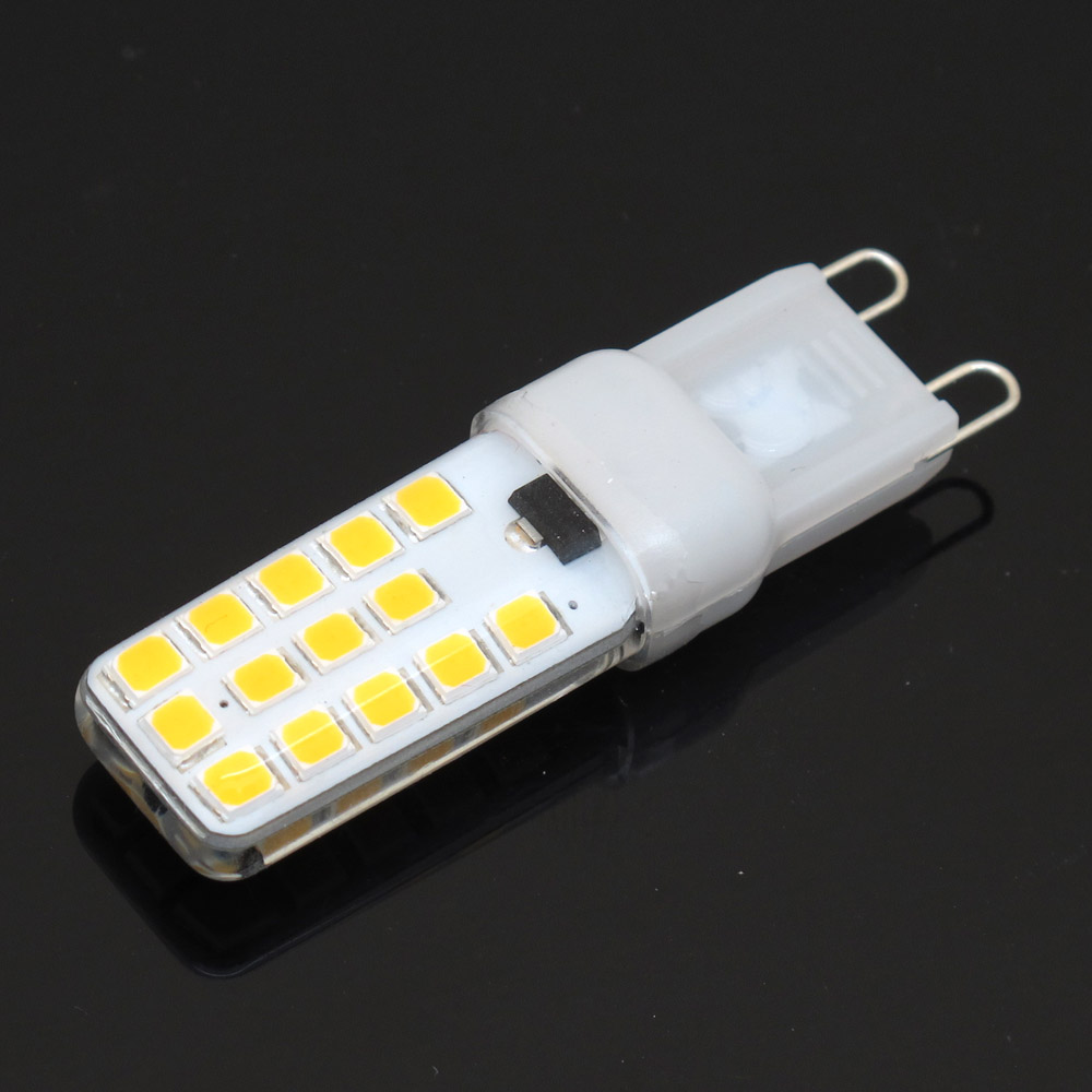 Popular dimmer halogen 220v buy cheap dimmer halogen 220v lots from brand new g9 dimmable 9w led bulb 28leds ac 220v smd2835 lamp replace halogen chandelier lights arubaitofo Image collections