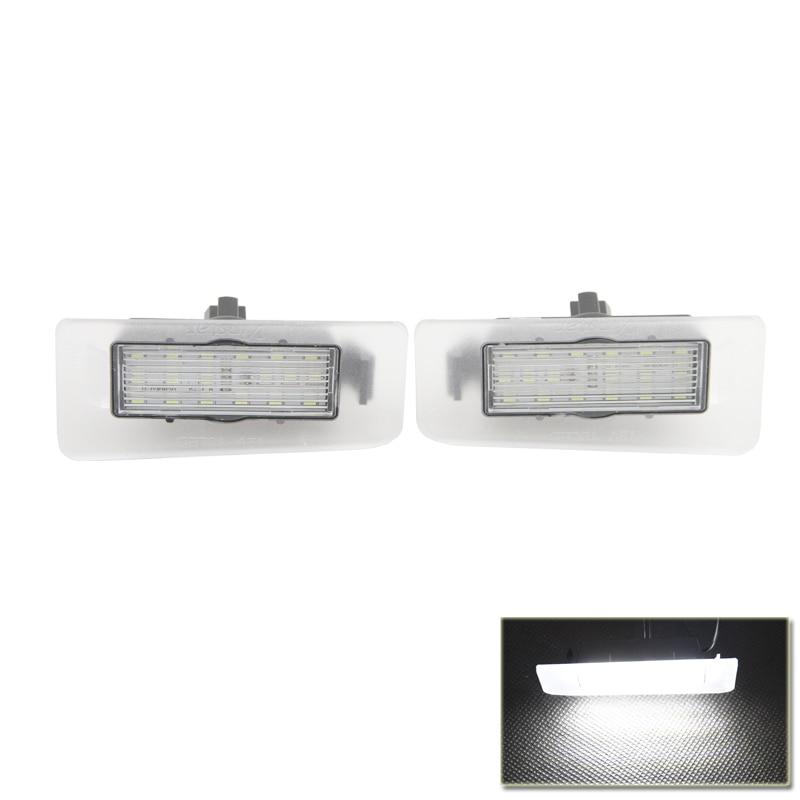 Безошибочную LED Номер Номерного Знака-Лампа Для Хендай Элантра 11-13 Для И30 12-14 Ультра Белый Автомобилей Задний Фонарь