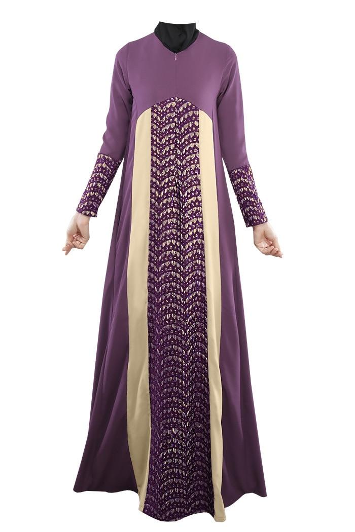 Hot New 2016 Islamic Clothing For Women Abaya Dresses -3117
