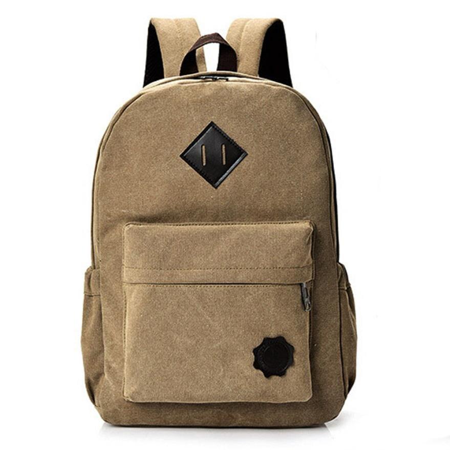 Retro Canvas Backpack Women Large Capacity Backpack Men Anti Theft Backpacks Vintage Backpacks Men Wholesale Rucksack Daypack#24