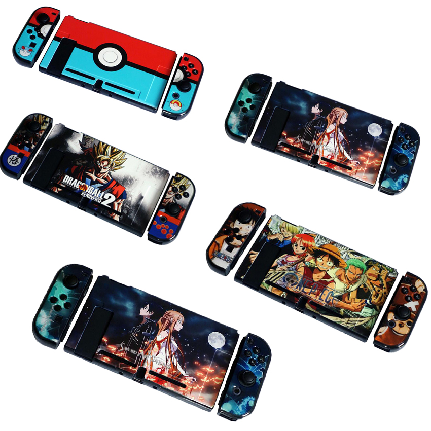 Colorful Pattern Hard Protective Housing Shell hard Case Cover For Nintend Switch Game Console Protector стоимость