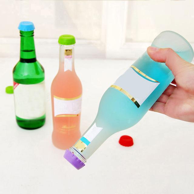 Silicone Bottle Cap 6 Pcs Set