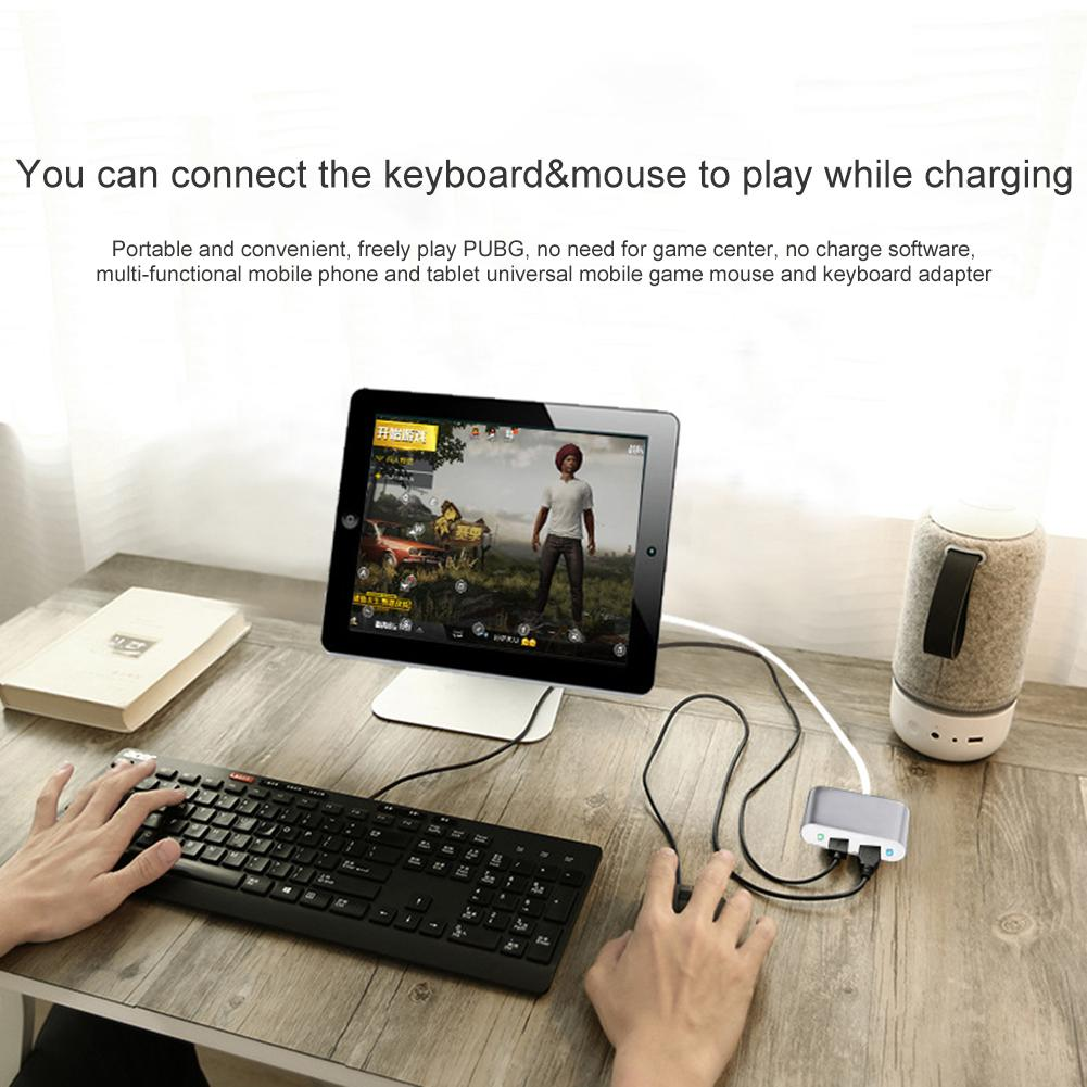 Keyboard Mouse External Converter For Mobile Games PUBG-in