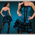 Mulheres steampunk gótico corselet cintura corsets trainer com flor roupas sexy lingerie espartilhos e corpetes slimming partido