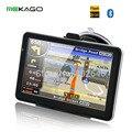 O Envio gratuito de 7 polegada de Navegação GPS Do Carro-8 GB + 800x480 + FM + Bluetooth + AV-IN + do Windows CE. NET 6.0