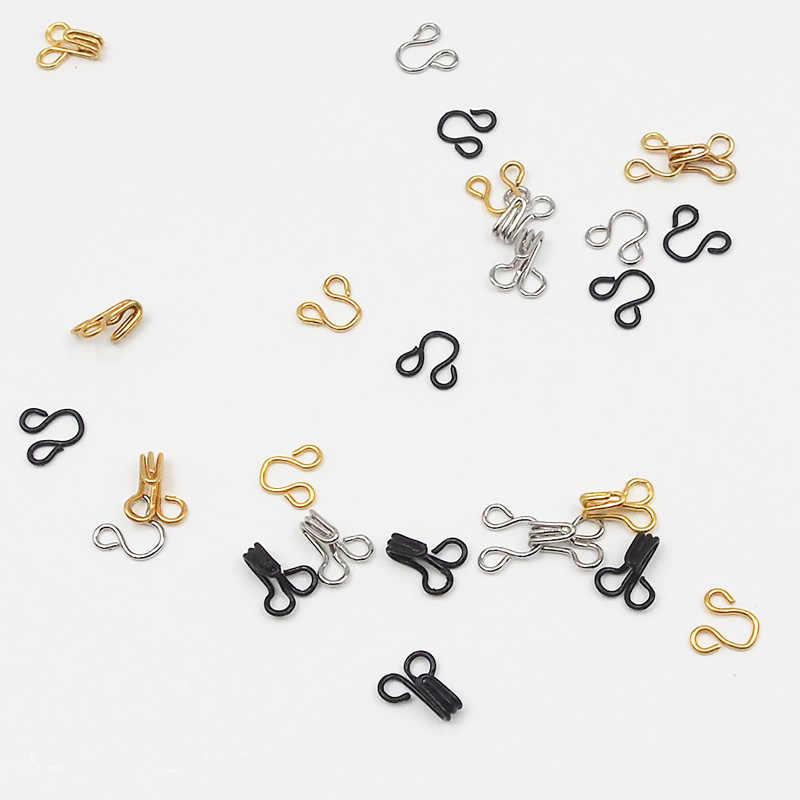20/40/100 pcs Mini Hook และหัวเข็มขัดสำหรับ Barbies, BJD, Pullip, blyth ตุ๊กตา DIY ตุ๊กตาชุดเสื้อผ้ากางเกงหัวเข็มขัดอุปกรณ์เสริม