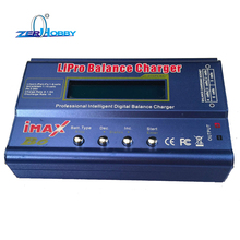 80W IMAX B6AC RC Balance Battery Charger B6 AC Nimh Nicd lithium Discharger with Digital LCD Screen