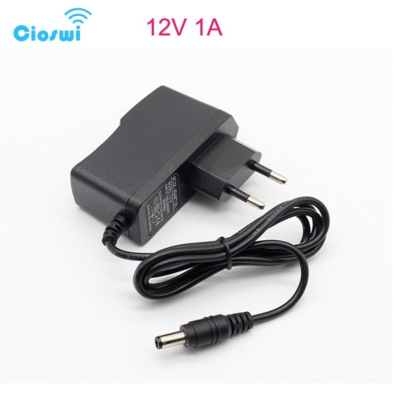 Cioswi DC Power Supply 9V 0.6A 12V 1A 2A 2.5A AC 220V To 12V Power Adapter Supply EU Plug Charger DC 9 V12 V Volt Power Supply