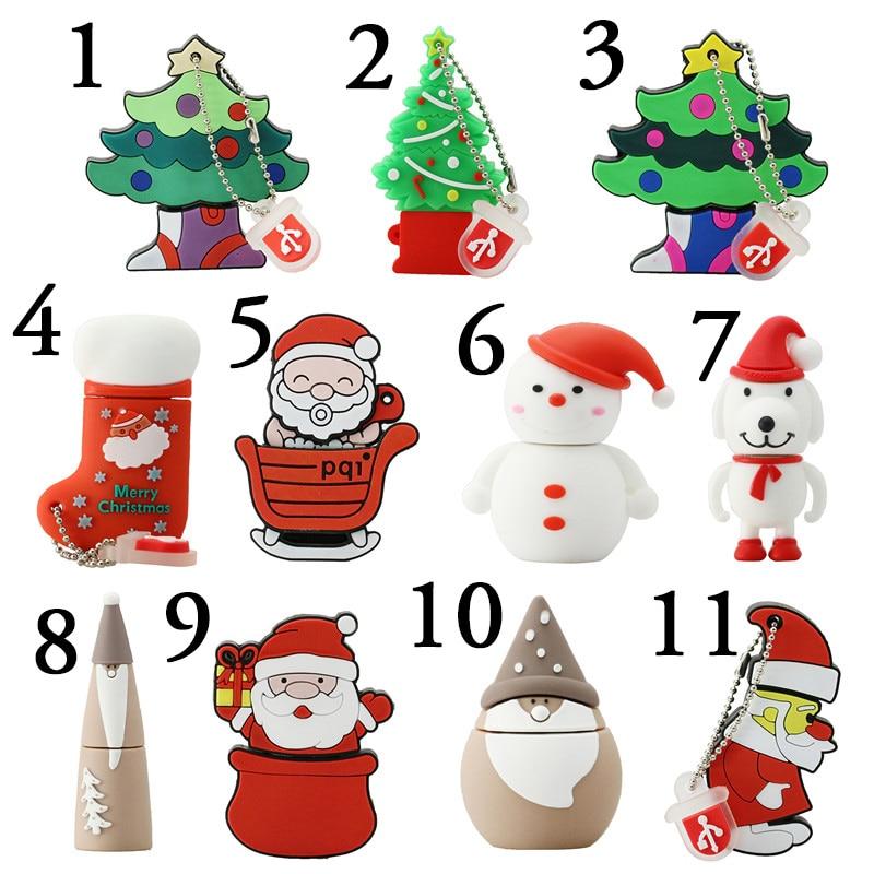 Christmas Gift font b USB b font font b Flash b font font b Drive b