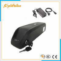 Free shipping 36v electric bike battery 36V 10Ah e bike battery lithium ion battery pack +BMS and charger