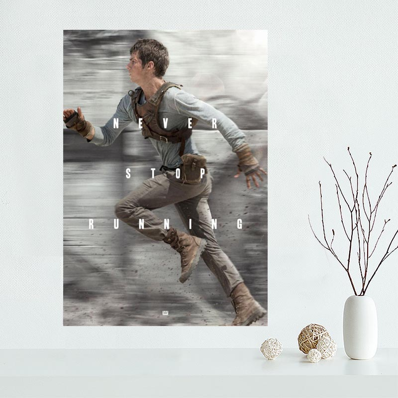 High Quality Custom Maze Runner Canvas Painting Poster