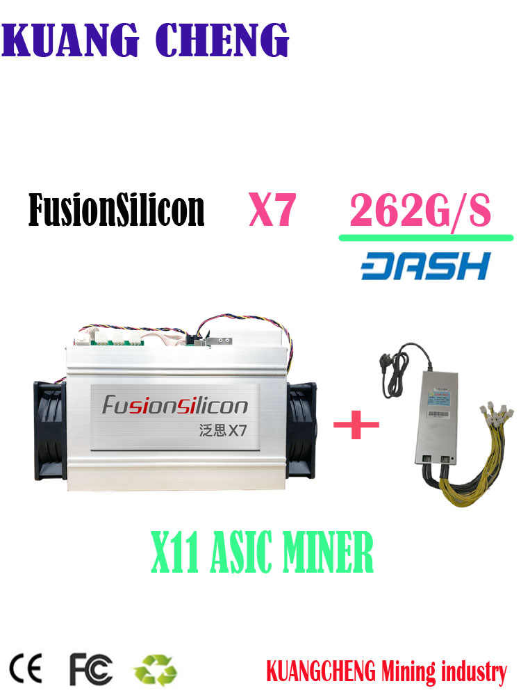 Detail Feedback Questions about Asic Dash FusionSilicon X7 262G Dash