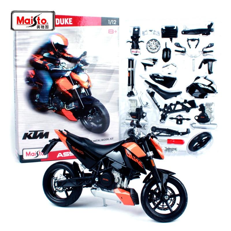 Sealed KTM 690 Duke 3 New Maisto Motorcycle Model 1:12