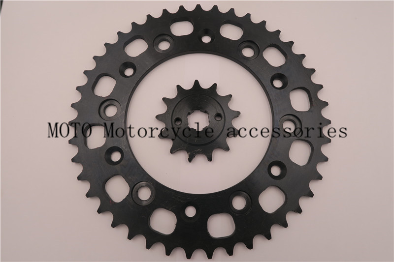 Motorcycle Front & Rear Sprocket Kit For Honda XR250 RL,RM,RN,RP,RR,RS 1990-1995 Motorcycle Chain Sprockets Set jt sprockets jtr503 45 45t steel rear sprocket
