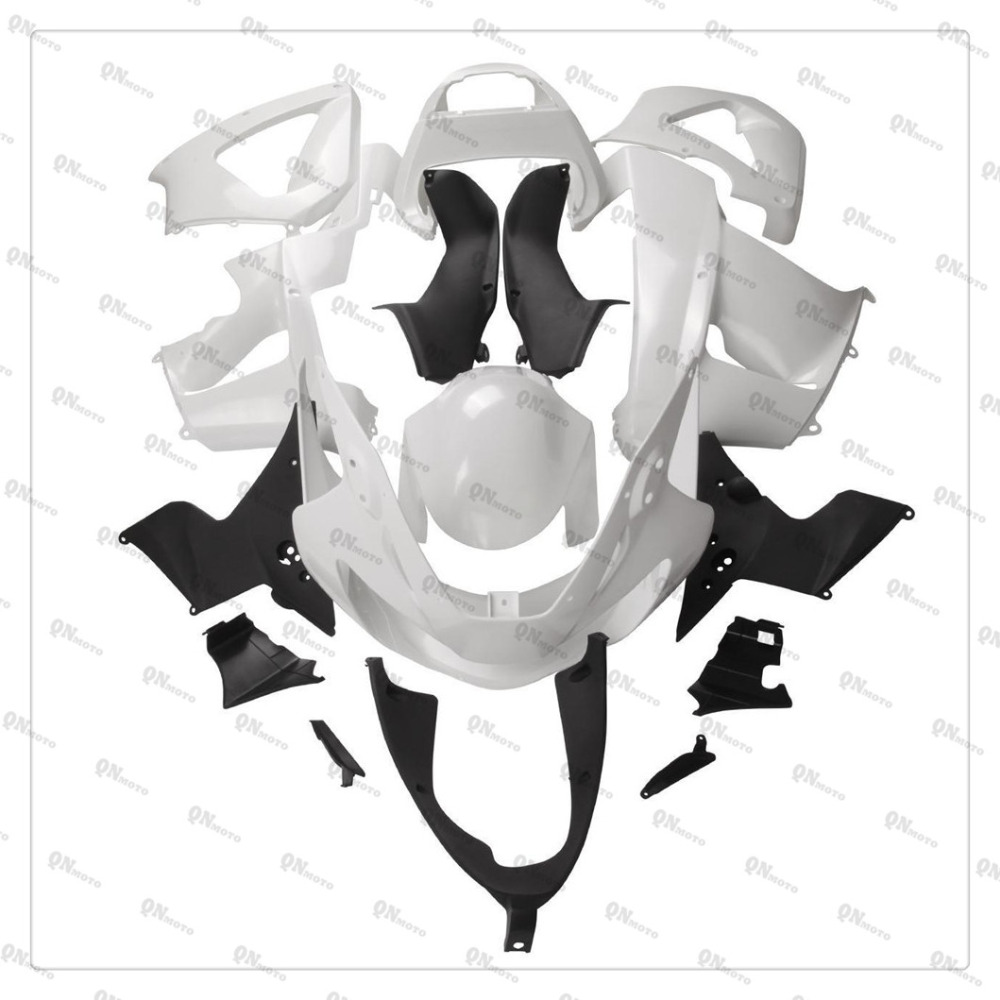 Motorcycle Unpainted White Fairing Cowl Body work Kit For Honda CBR900RR CBR929RR 2000-2001 + 4 Gift