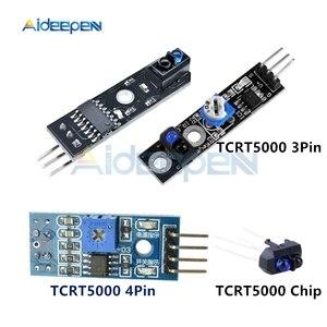 DC 3, 3 V 5V TCRT5000 3 Pin 4 Pin инфракрасная отражательная способность сенсор модуль обхода препятствий Трассировка датчика Трассировка модуль для . . .