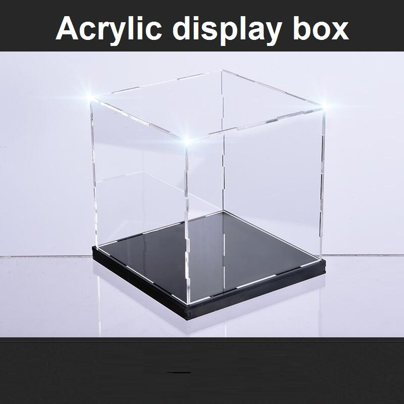 10X10X12CM High transparent acrylic display box Garage Kit