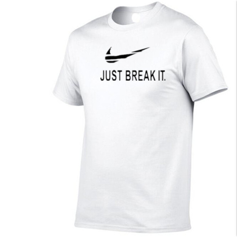 2018 El más nuevo diseño Algodón Camisetas divertidas O-cuello - Ropa de hombre