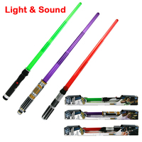 33Inch Foldable Star Wars Laser Sword With Sound And Light Classic Laser Sword Toy For Kid