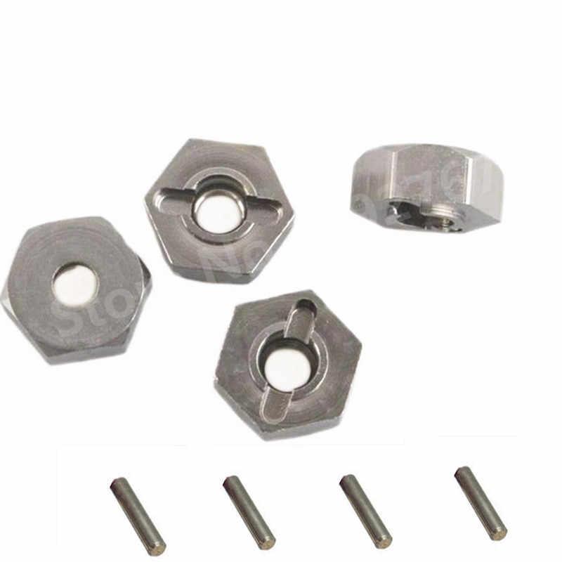 4 stks/partij RC HSP Aluminium Wiel Hex Moer 12mm 102042 (02134) upgrade Onderdelen Voor 1/10th Schaal Modellen 4WD R/C Hitmoto 33009 Redcat