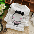 Baby  Boys&girls Spring&autumn Cotton Lovely Baby  Print  tshirts Bottoming Shirt For 60-95cm Height Kids B002