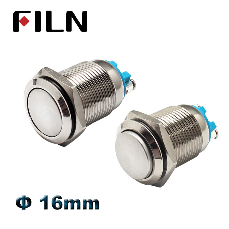 Blue 24V 8mm Hole Waterproof LED Dash Panel Indicator Warning Light Lamp