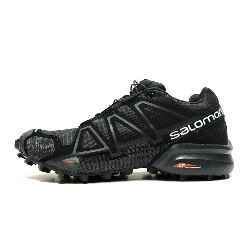 Salomon Speed Cross 4 CS Hommes Sneakers Mâle Noir Cross-Country En Plein Air Formateurs Chaussures de Sport Homme Chaussures de Course 40-46
