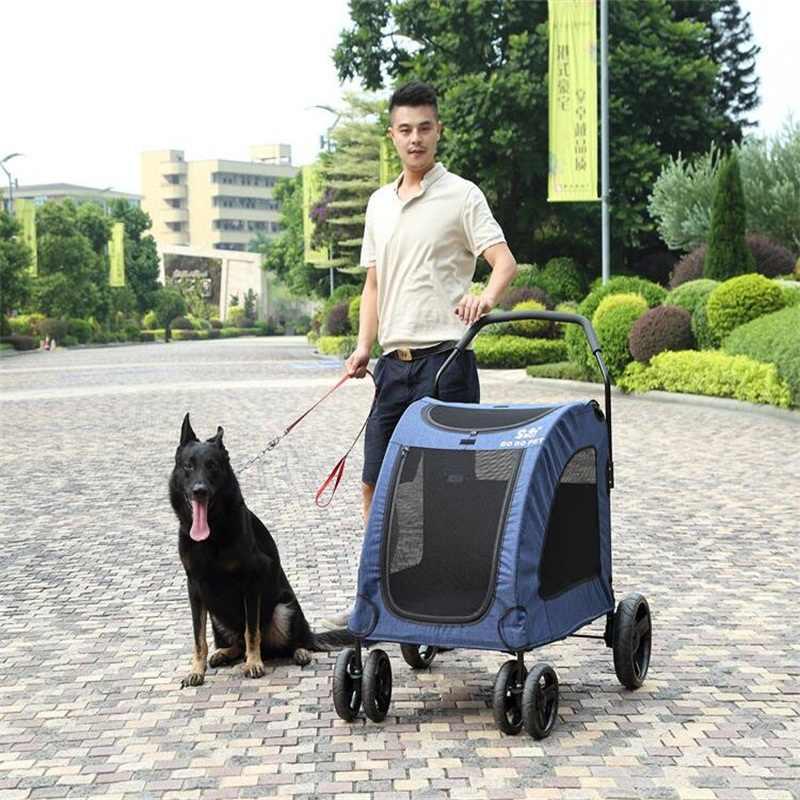 For Large Dog trolley Pet cart Pet Stroller