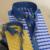 CAIZIYIJIA Verão 2016 Xadrez de Manga Curta Camisas Listradas Homens Profunda Cor Casual Slim Fit Botão-Down Camisa de Algodão Respirável