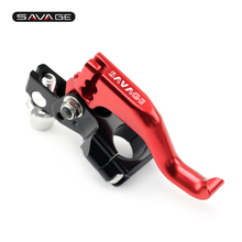 For 22mm 7/8 handlebar Motorcycle CNC T6061 Aluminum Performance Stunt Clutch Lever Assembly Black/Blue
