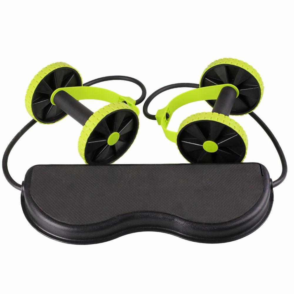 Fofar Rollers Fitness Equipment Abdominal Exerciser Trainer Puller Roller Slimming Muscle Trainer Workout Resistance Bands