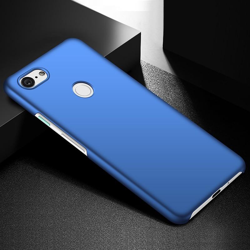 Thin Matte Protection New Phone Case For Google Pixel 3XL Pixel 3 Cover Case Black Slim