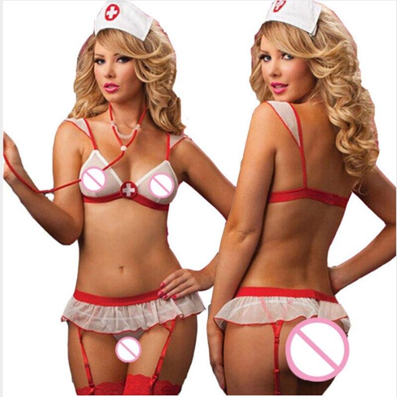 sexy women lingerie hot nurse uniform sexy underwear sleepwear erotic lingerie sex maid sexy halloween cosplay costumes