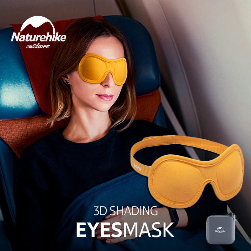 Naturehike Ultra Comfort 3D Eye Cover Eye Mask For Sleeping Pressure-Free Eye Shades For Travel Naps Night Blindfold Sleep Mask