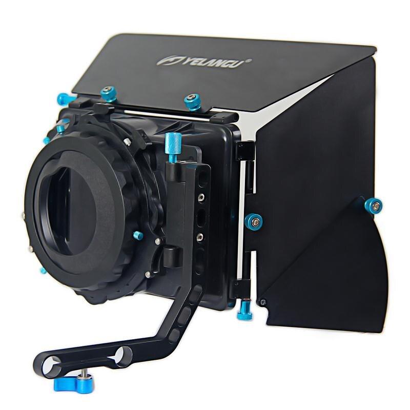 Filtre de parasol de boîte mate professionnelle facile à installer pour les appareils photo reflex numériques DV maison accessoires d'appareil photo Portable DV