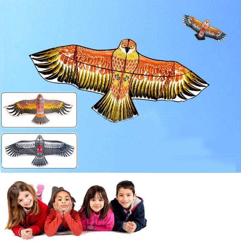Huge Big Outdoor Fun Sport Kite Eagle Animal Bird Kites Child Children Toy High Quality Random Color