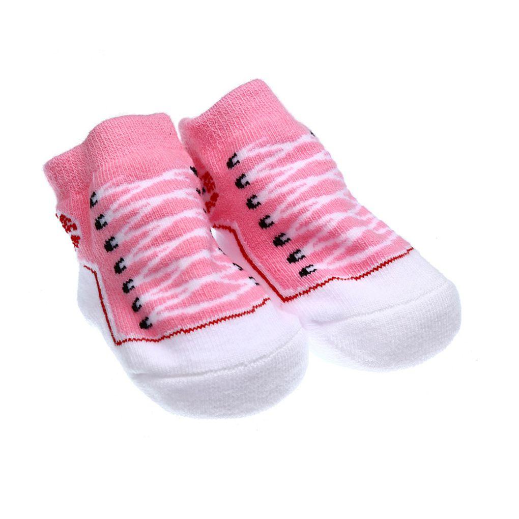 Cartoon Unisex Newborn Baby Socks Anti Slip Sole Socks For Girls/Boys Cotton Toddler Cartoon Newborn Spring Infant Socks Full