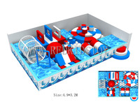 Exported to Russia New Adventure Indoor Playground Indoor CE Approved Kids Play Equipment HZ 16726A