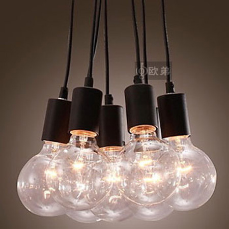 Aliexpress Buy Vintage American Style Bulb Pendant Light Diy