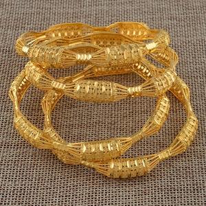 Image 5 - مجموعة من 4 قطع من الأساور للسيدات باللون الذهبي مناسبة كهدية عربية أفريقية #088106 متر