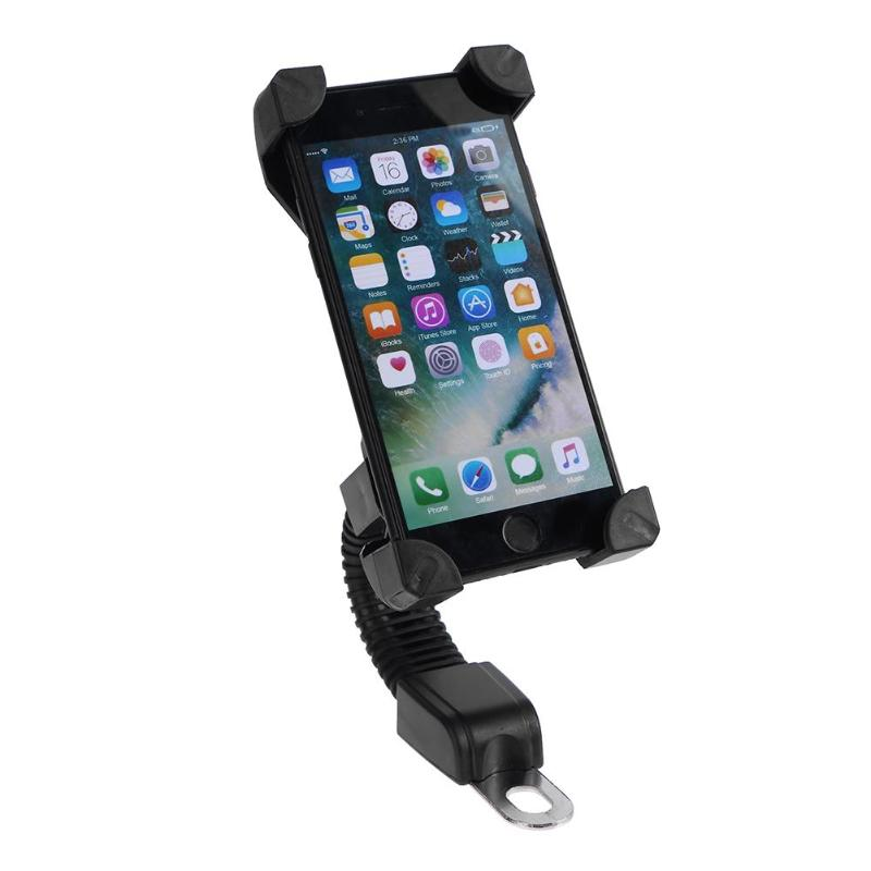 Image 5 - Motorcycle Mobile Phone Holder Electromobile Motor Mount 3.5 6.5 inch Phone Stand-in Phone Holders & Stands from Cellphones & Telecommunications on