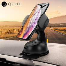 QIIHII Universal Phone Car Holder For iPhone Smartphone Mobile Stand Windshield iphone