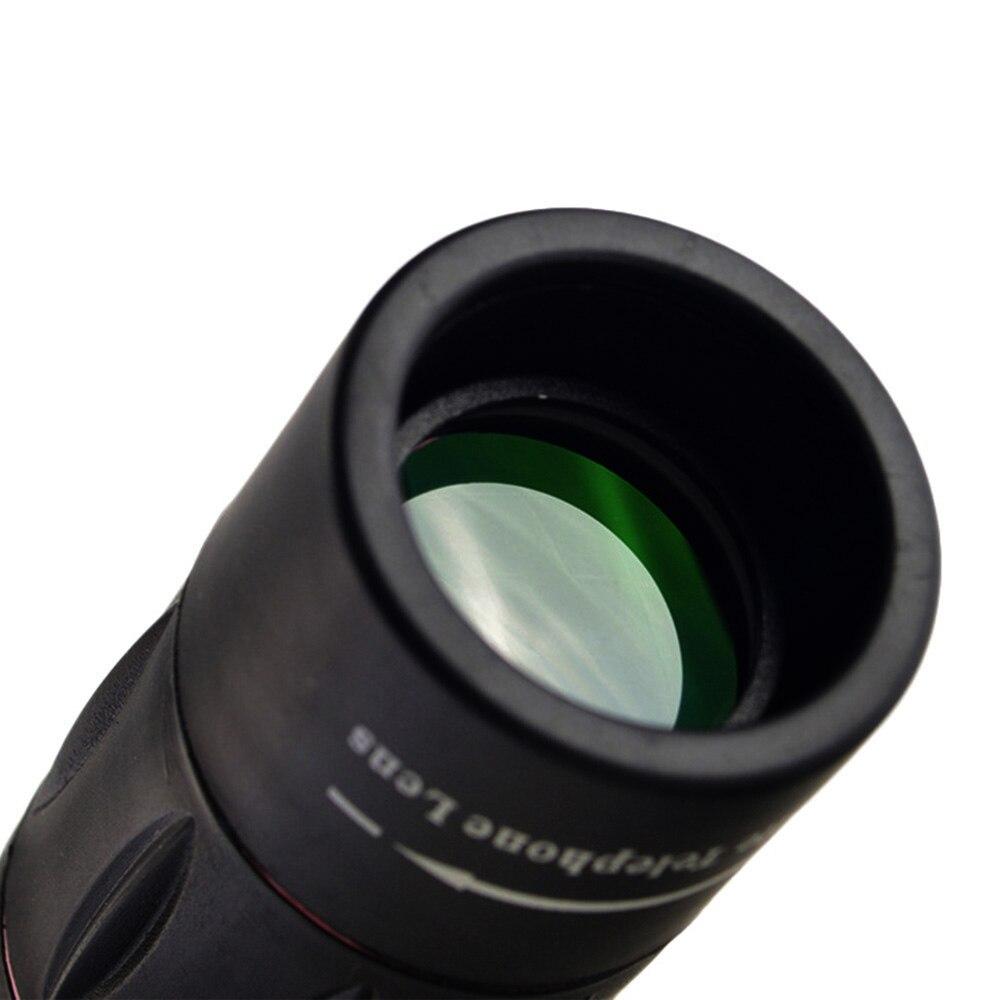 Купить с кэшбэком 18x25 Mobile Phone Lens Monocular Telescope Zoom for iPhone Samsung Xiaomi Smartphones Clip Telephone 18X Cell Phone Camera Lens