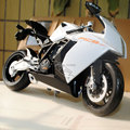 Free Shipping Brand New Cool 1/10 Diecast Motorcycle Model Toys KTM RC8 White Metal Motorbike Model Toy For Kids/Children/Gift