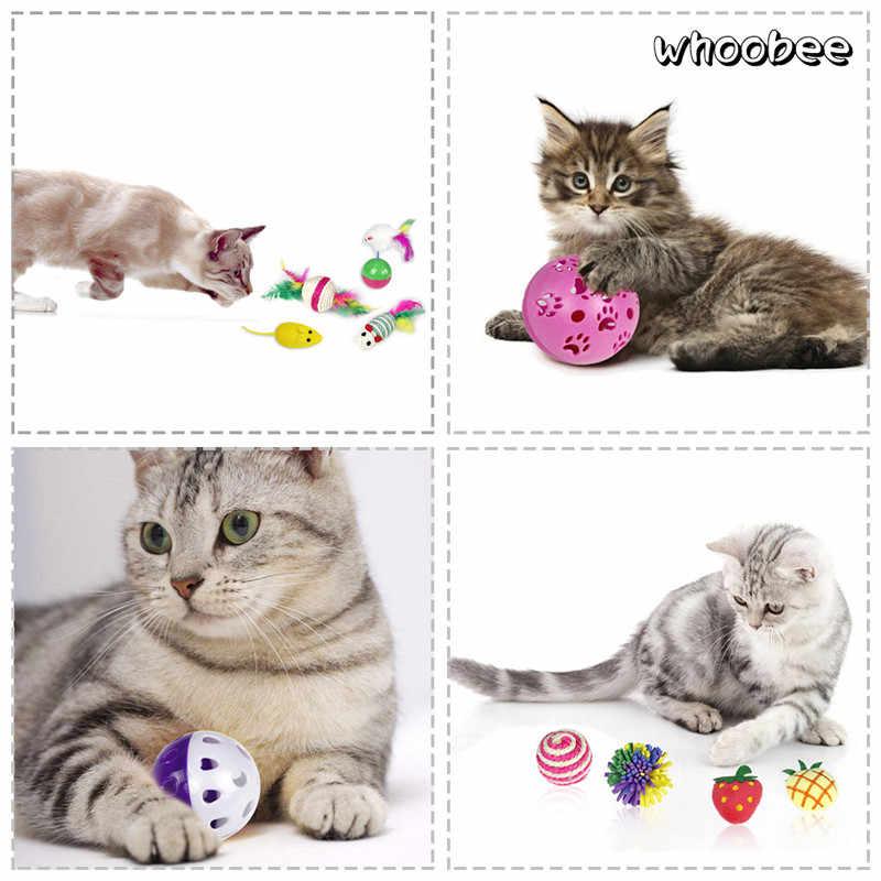 猫のおもちゃ 24 ピース/セットペットキット折りたたみトンネル Cat Toy ファンベル羽形状ペット子猫犬猫インタラクティブ再生用品
