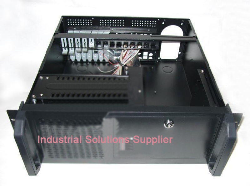 New 4U Industrial Computer Case Server Computer Case PC Large-Panel Big Power Supply Hard Drive new industrial computer case 2u server computer case pc power supply length 43