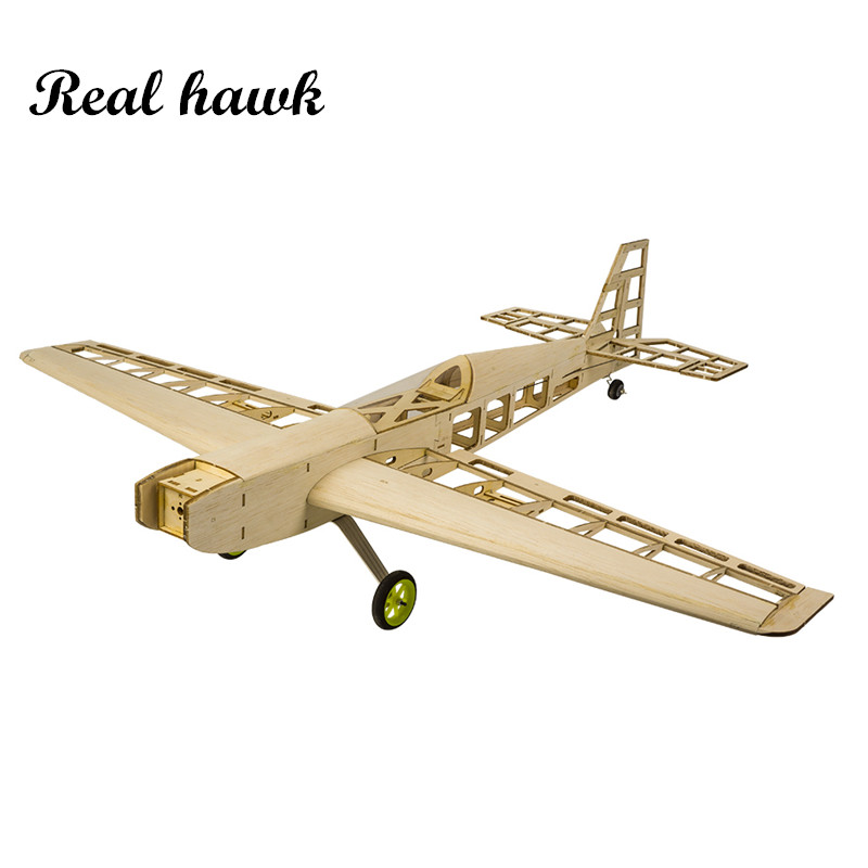 RC Plane Laser Cut Balsa Wood Airplanes Kit 1 5 2 5cc nitro trainer Frame without