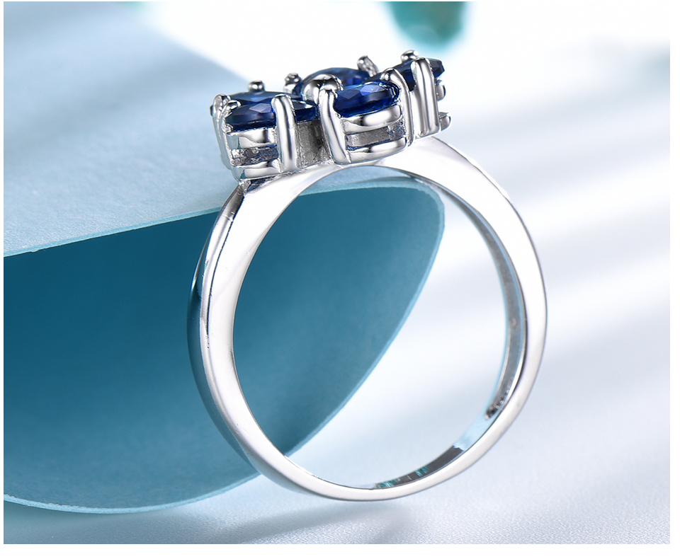 UMCHO Created Nano Sapphire 925 sterling silver rings for women EUJ091S-1-pc (5)